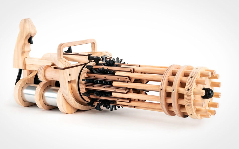 Rubber Band Minigun