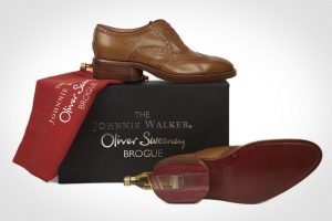 OLIVER SWEENEY JOHNNIE TAN LEATHER BROGUE