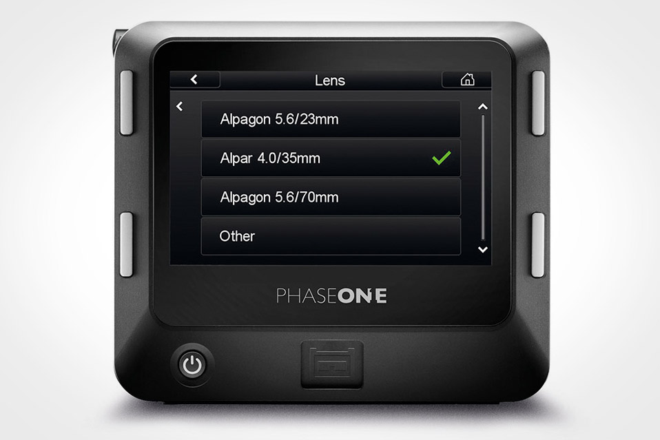 PHASE ONE A-SERIES IQ3 100MP SYSTEM
