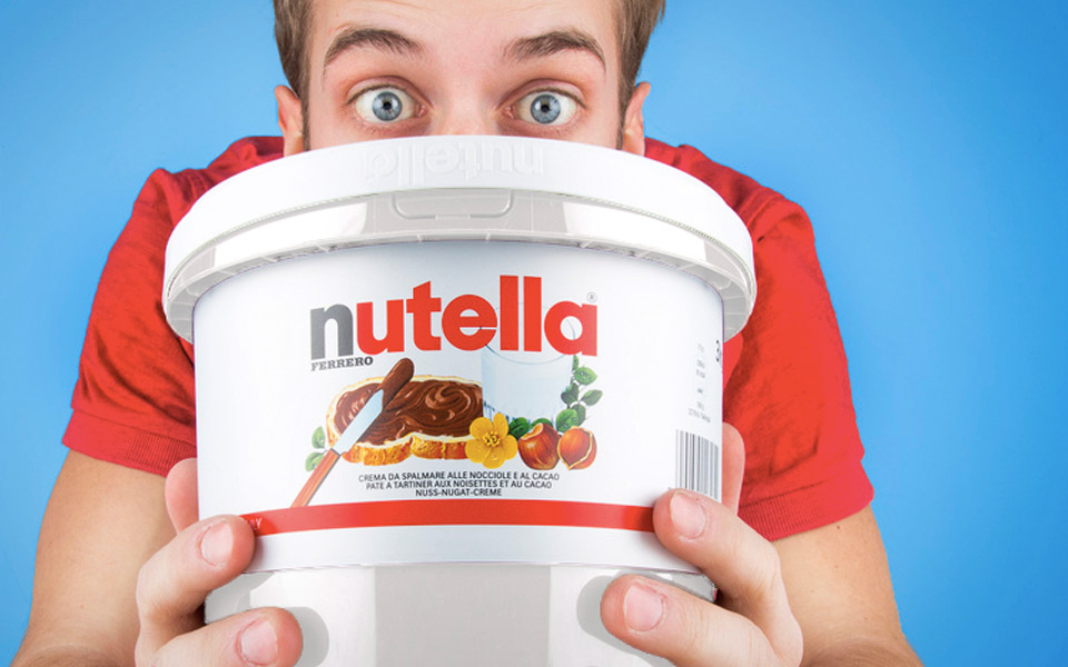 Nutella-spand
