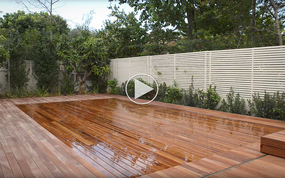 Agor Creative Engineering Movable Floor Swimming Pool