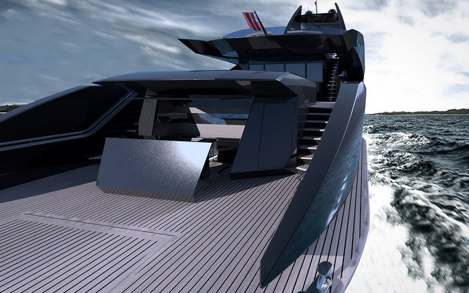 The Gotham Project Superyacht