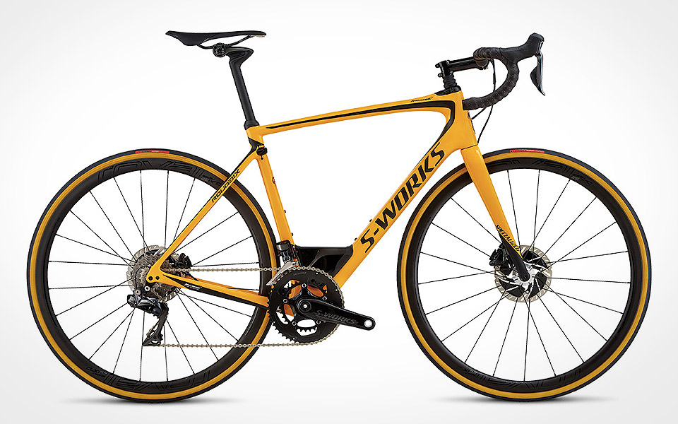 McLaren X Specialized S-Works Roubaix