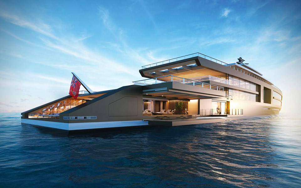 Sinot Project NATURE Superyacht