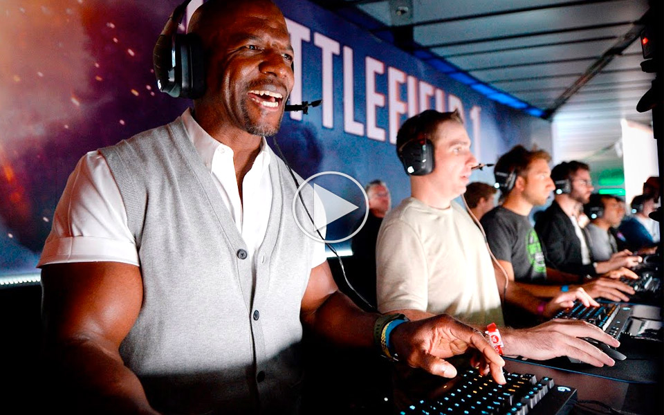 Terry Crews byggede en vanvittig gamer PC