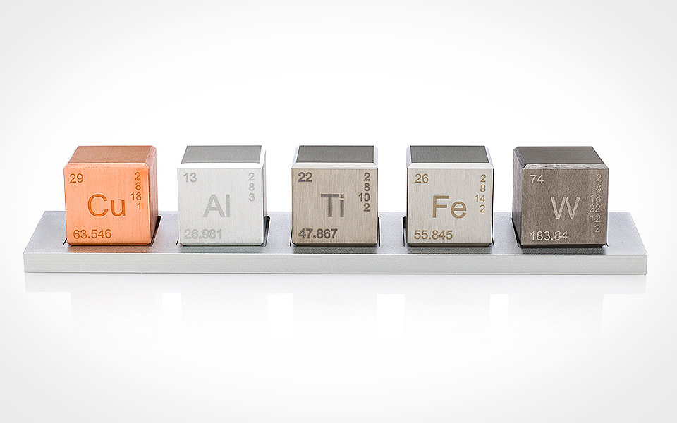 "Element 1"" Cube Density Set"