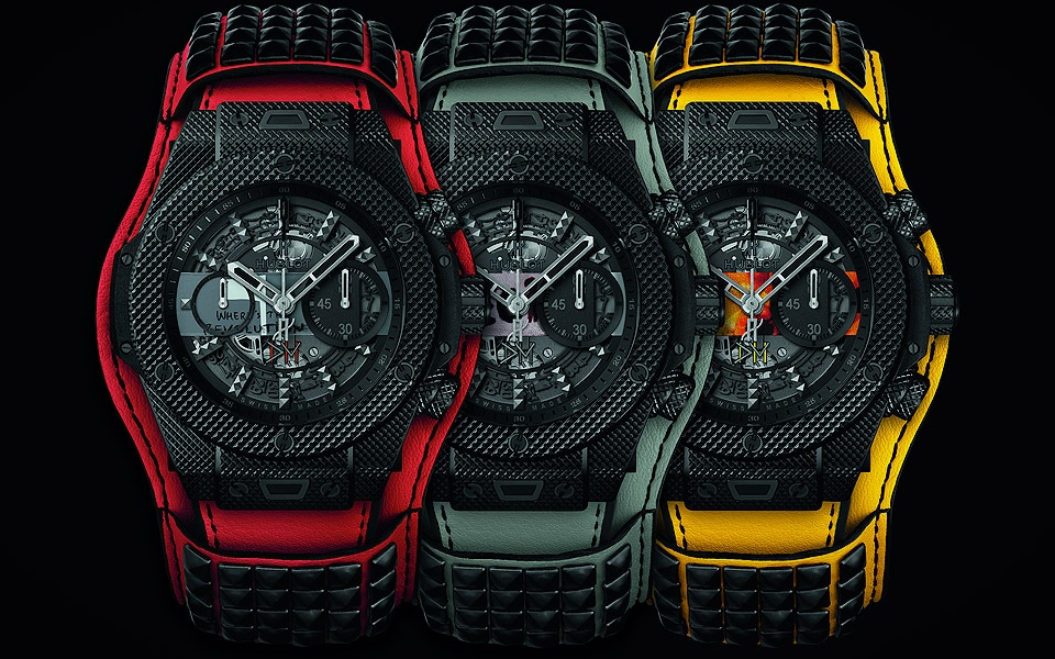 "Hublot Big Bang Depeche Mode ""The Singles"" Limited Edition"