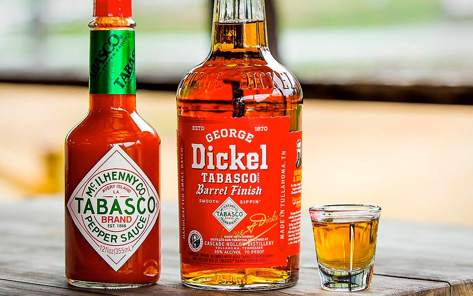 George Dickel Tabasco Whisky