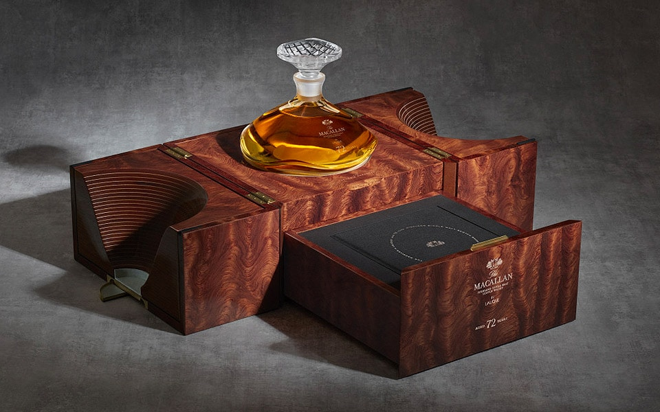 The Macallan 72 Years Old in Lalique