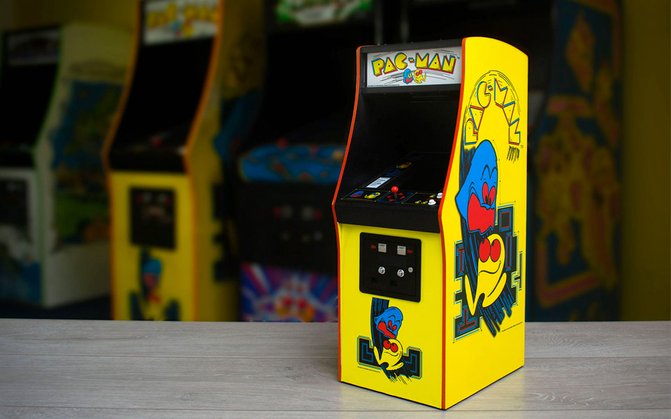 Pac-Man arkade i mini-format