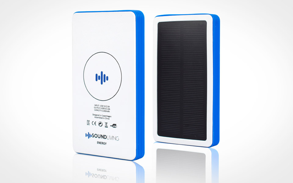 Soundliving Energy - powerbank med trådløs power