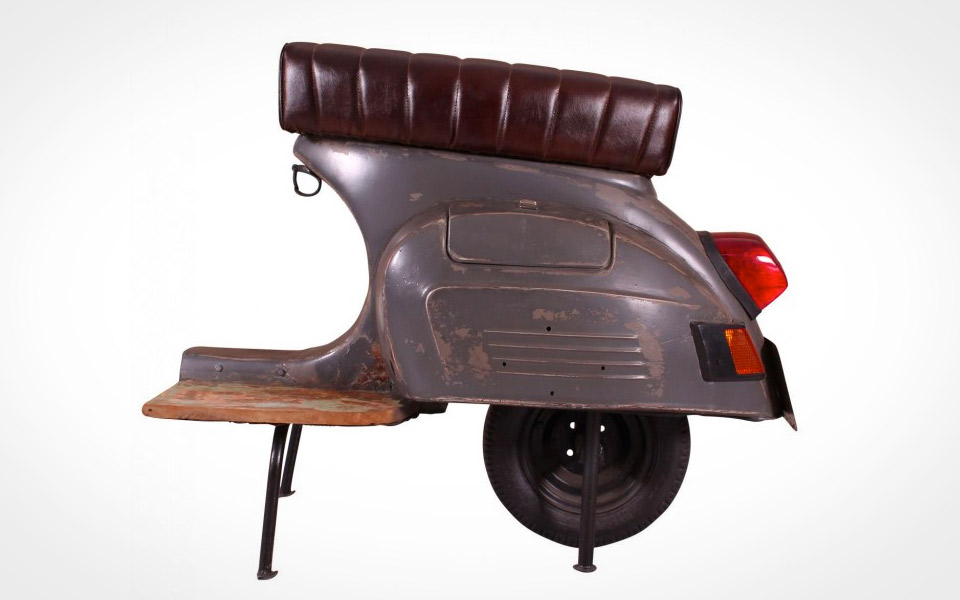 Limited Edition Scooter Barstol