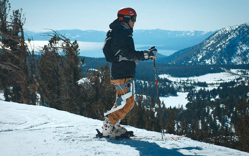 ROAM ELEVATE robotic ski xo