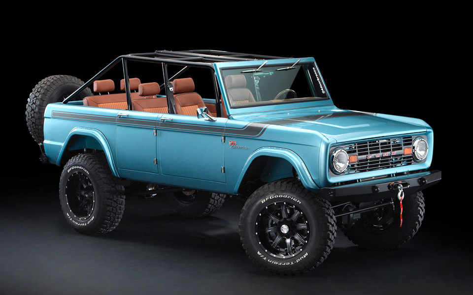 Maxlider Brothers Customs Ford Bronco