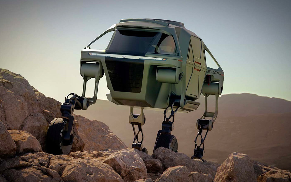 Hyundai Walking Car Concept