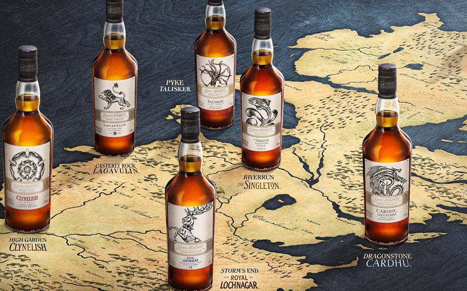 The Game of Thrones Single Malt Scotch Whisky Collection