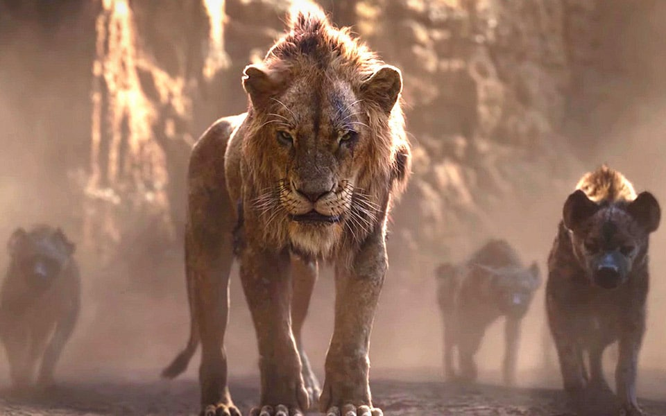 Den nye trailer til The Lion King viser Scar, Nala, Timon og Pumba
