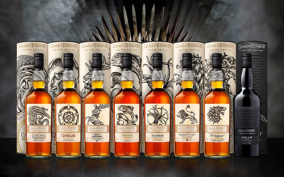 Game of Thrones og Single Malt Whisky er det perfekte miks