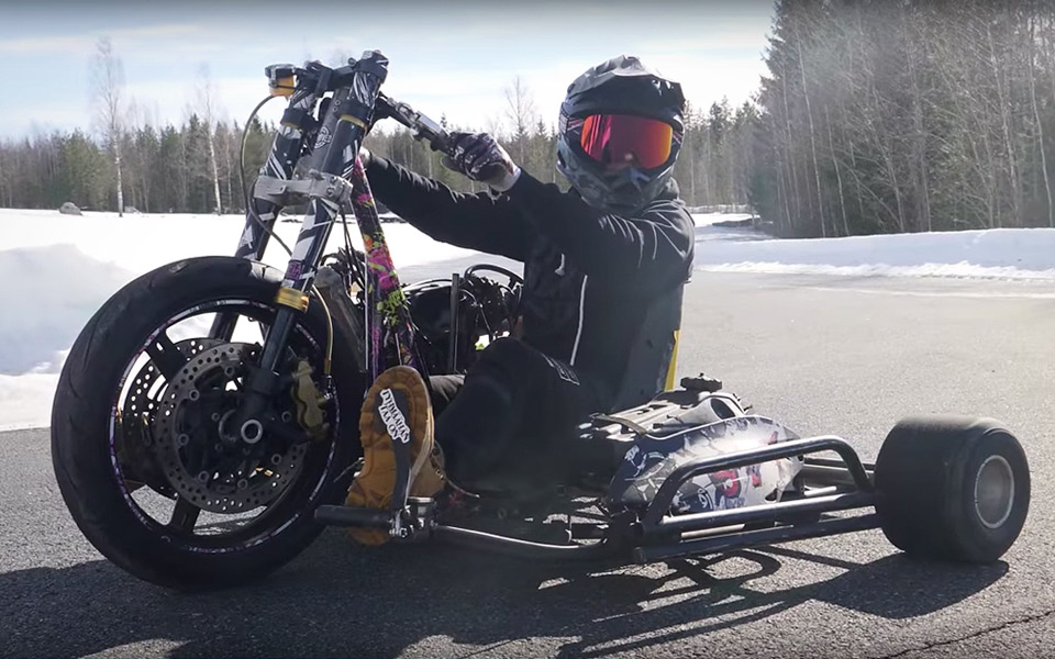 Widowmaker er den ondeste drift trike