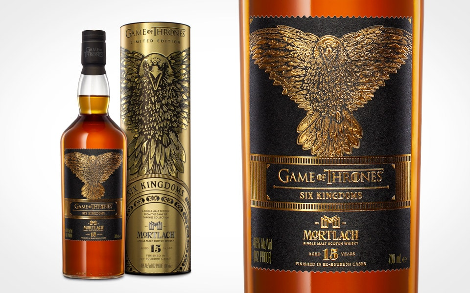 Mortlach Single Malt 15 års fuldender Game of Thrones Limited Edition whisky-samlingen