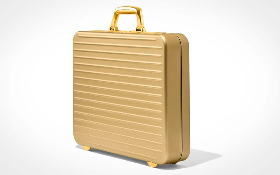 Rimowa Limited Edition Attaché Gold