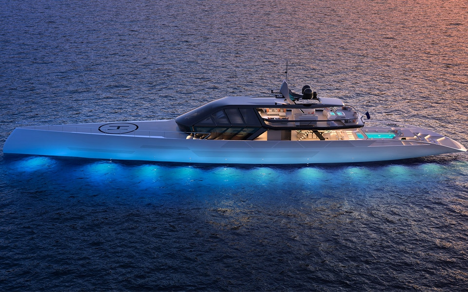 Project Ice Superyacht