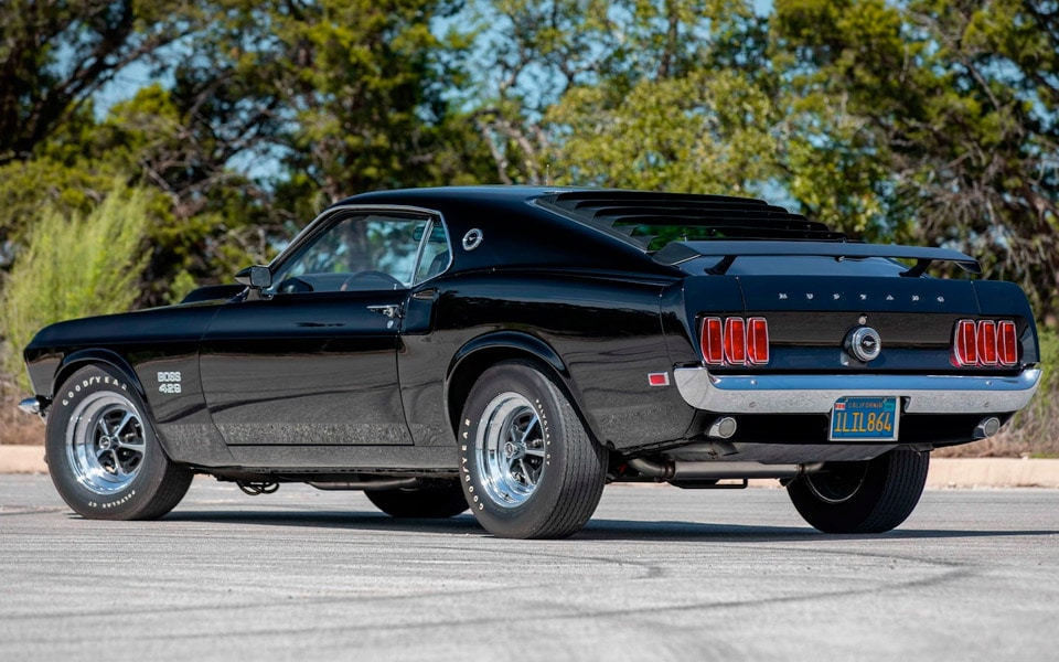 Paul Walkers 1969 Ford Mustang Boss 429 Fastback ryger på auktion