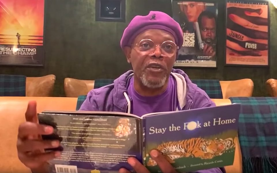 Samuel L. Jackson siger Stay the F**k at Home