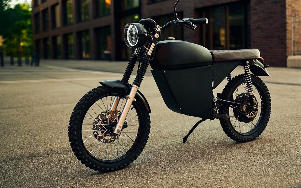 BlackTea Motorbikes Electric Adventure Moped