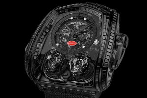 Jacob & Co. Twin Turbo Furious Bugatti La Montre Noire