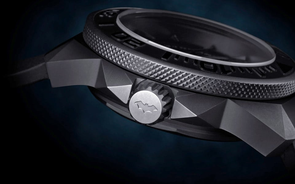 Undone Watches Batman Quantum Black Edition