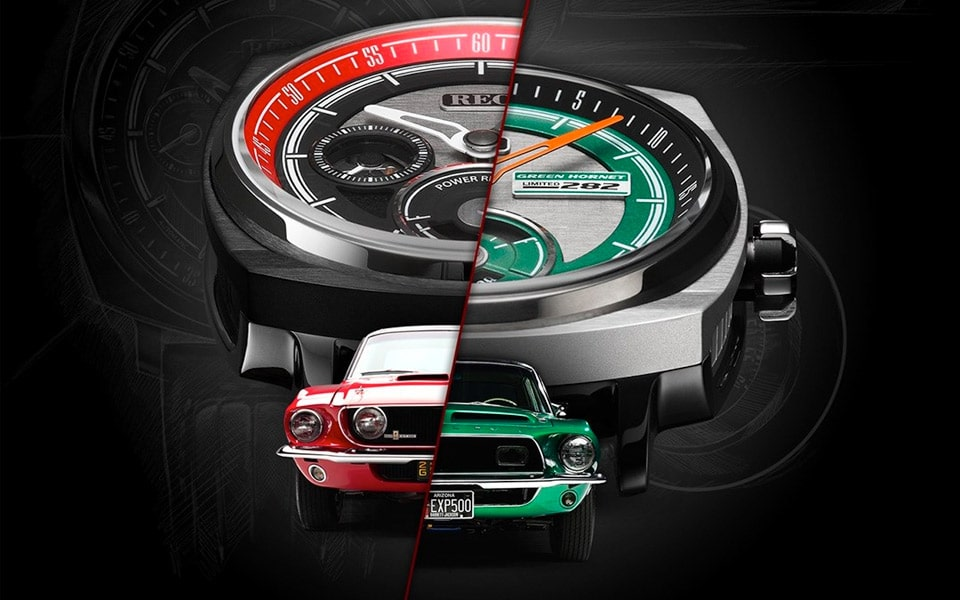 REC Watches nye ure er lavet af to Carrol Shelby Ford Mustangs