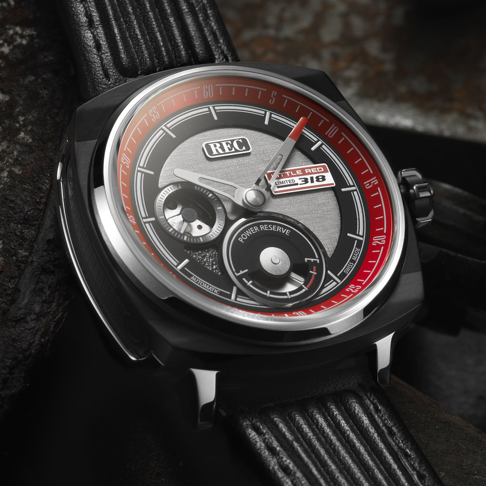 REC Watches nye ure er lavet af to Carroll Shelby Ford Mustangs