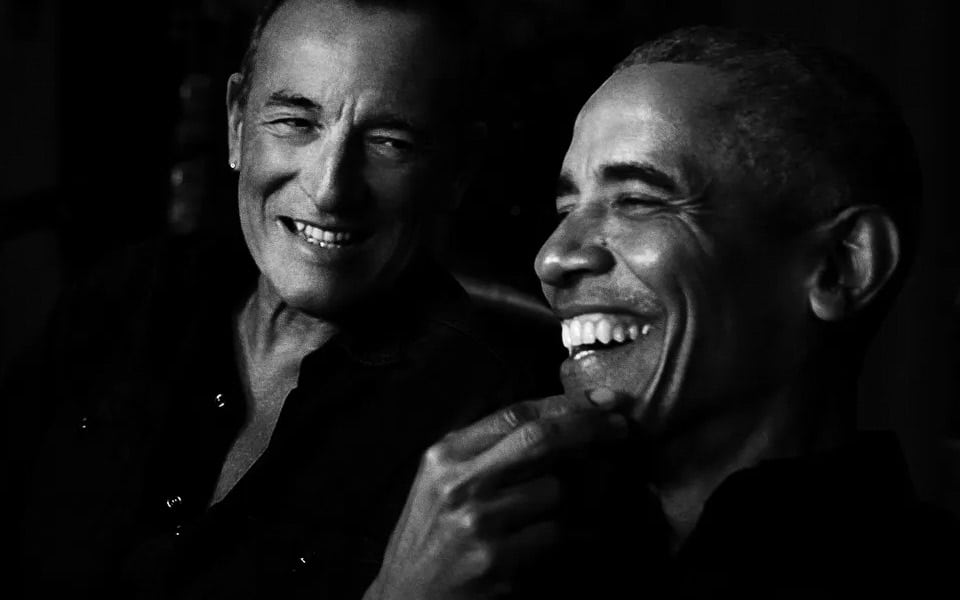 Barack Obama og Bruce Springsteen er klar med en podcast