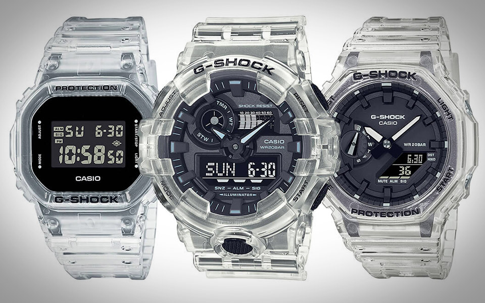 Casio G-Shock Skeleton Series